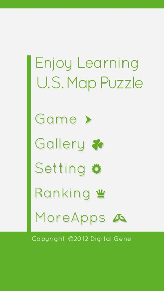 Enjoy Learning US Map Puzzle On The App Store - Us map puzzle game