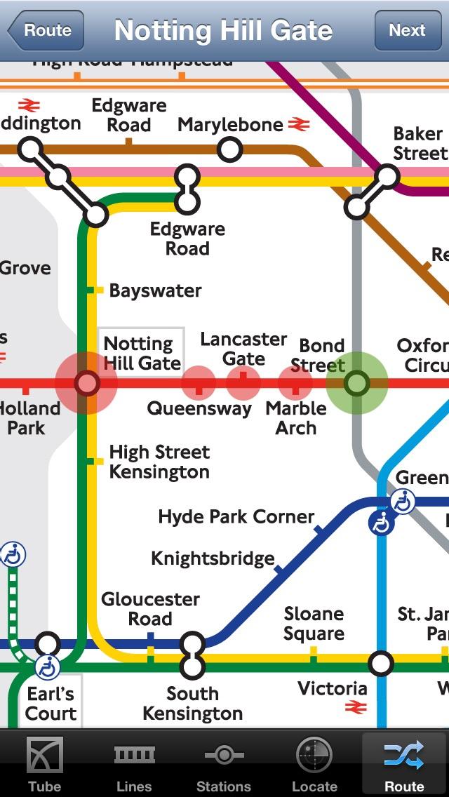 London Tube Screenshot 1