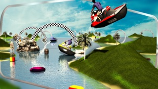 Screenshot #3 pour Jet Ski Driving Simulator 3D