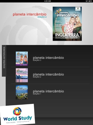 Planeta Intercâmbio screenshot 1