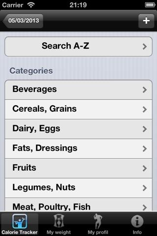 compteur de calories : gestion de votre poids et régime screenshot 3