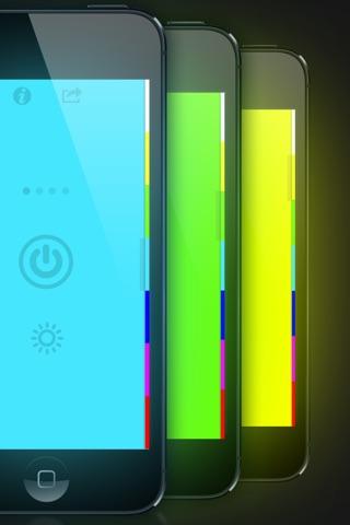 myLite LED Flashlight & Strobe Light for iPhone and iPod - Free screenshot 2
