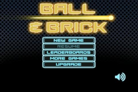 Ball & Brick Lite screenshot 1
