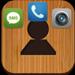 Raccourci Contact : vos amis sur l'ecran d'accueil