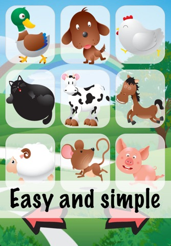 Animal Sounds for Babies Lite screenshot 1