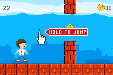 Hover Harry - The Kickflip Flying Ollie Skateboard Game screenshot 1