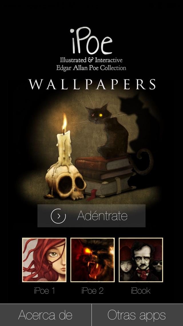 Screenshot #6 for Edgar Allan Poe - Wallpapers