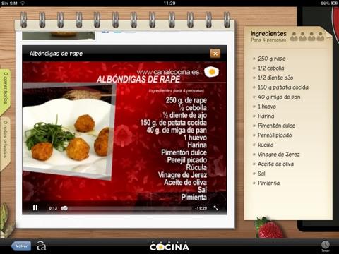 Canal Cocina HD screenshot 2