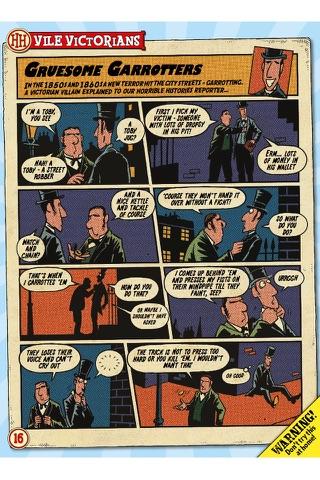 Horrible Histories Magazine Lite screenshot 3