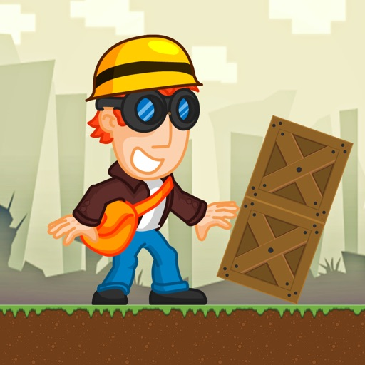 Splashy Jack - the Hoppy Box Jumping Man iOS App