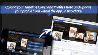 Screenshot #10 for Photo Covers for Facebook LITE: Timeline Editor