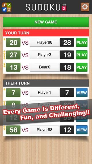 Sudoku For 2 Screenshot