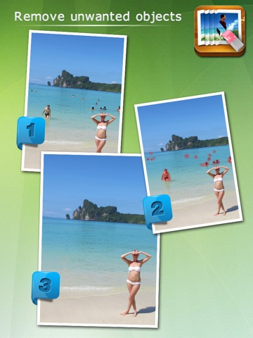Screenshot #1 for Photo Eraser - Remove Unwanted Objects from Pictures and Images