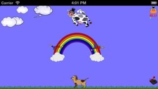 Screenshot von Kopf schütteln,Fliegende Kuh4