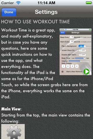 Workout Time Lite screenshot 4