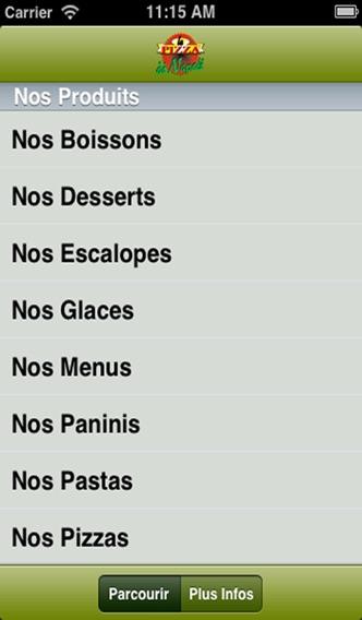 Pizza Di Napoli 91Capture d'écran de 2
