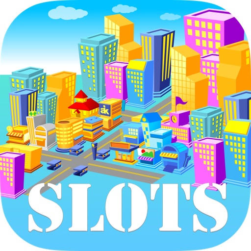 Vivid City Slots Free - Spin the Fortune Wheel to Win the Grand Prize iOS App