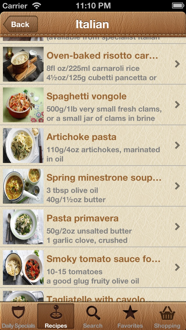 Screenshot #7 for World Recipes - Cook World Gourmet