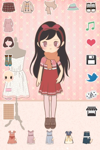 Paris Chic: Cute Dress Up Game screenshot 3