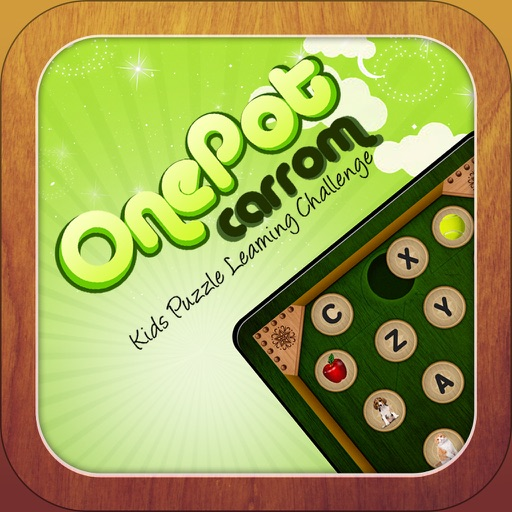 One Pot Carrom For Kids Puzzle Learning Challenge Pro iOS App
