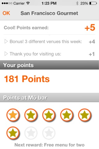 Quomai, loyalty and rewards cards screenshot 3