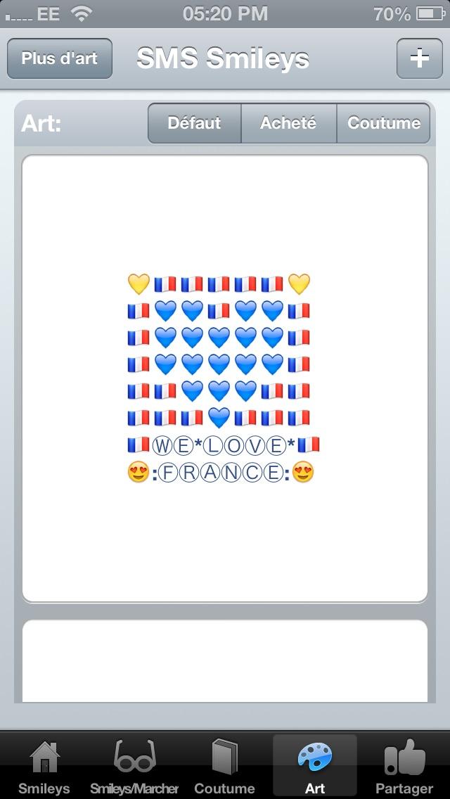 SMS Smileys Free - New Emoji IconsCapture d'écran de 4