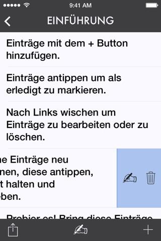 Ita — A List-Making App screenshot 2