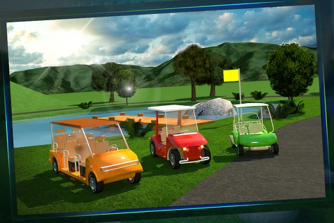 Golf Cart Simulator 3D screenshot 4