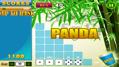 10,000 Addict Wild Panda Journey Pop Farkle Dice Casino Games Free screenshot two