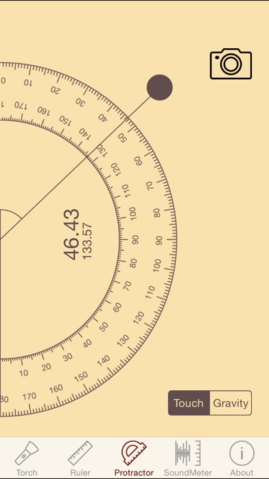 download ytools-flashlight,ruler,spirit level,protractor and sound level meter apps 0