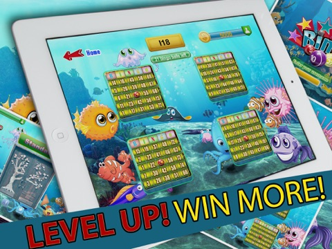 Shark Bingo Party Pro - The Submerged Bingo Bash Partying with the Shark-s!-ipad-1