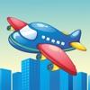 Aktiv! Spiel der Flugzeuge für Klein-kinder zum Lernen für Kind-ergarten und Vor-schule
