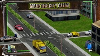Screenshot #1 pour Garbage Trucker Recycling Simulation