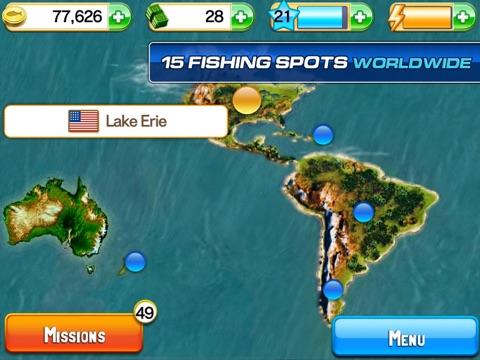 Screenshots of Fishing Kings Free+ for iPad