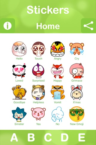 Stickers for Facebook Messenger, WeChat, Viber & WhatsApp...etc screenshot 2