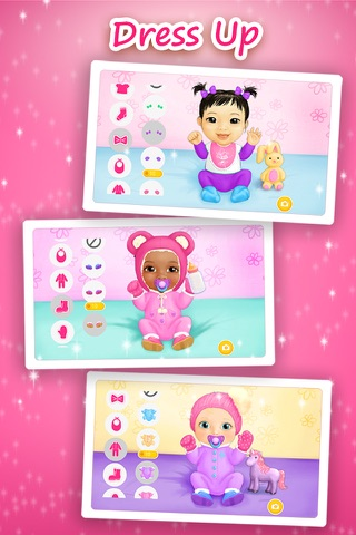 Sweet Baby Girl - Daycare 2 Bath Time and Dress Up Mini Games (No Ads) screenshot 2