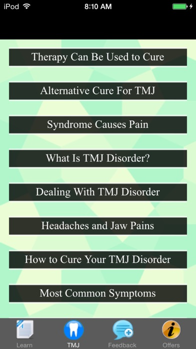 download TMJ Disorder - Suggested Treatment & Remedies apps 1