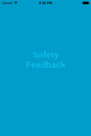 Safety FeedBack screenshot 1