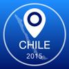 Guía de Chile Offline Mapa + Ciudad Navegador, Atracciones y Transportes