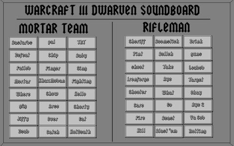 Dwarven Soundboard screenshot 1