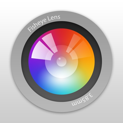 魚眼レンズ (Fisheye Lens) - Lomo Style Fisheye Camera
