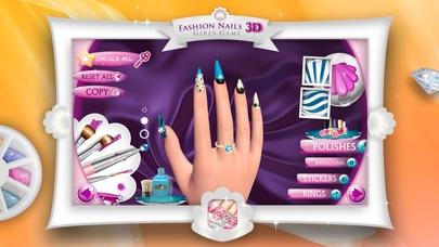 Screenshot of 3D Unghie di Moda - Giochi per Ragazze: Crea Fantastici Disegni di Unghie nel tuo Salone di Bellezza3