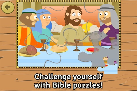 Life of Jesus: Last Supper - Bible Story, Coloring, Singing, and Puzzles for Kids screenshot 3