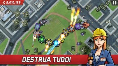 Screenshot do app Colossatron: Ameaça Mundial Maciça