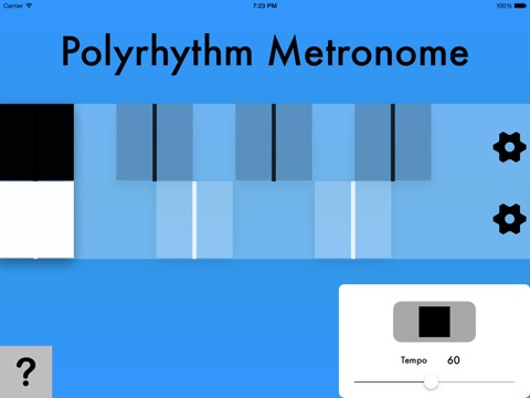 Polyrhythm Metronome screenshot 1