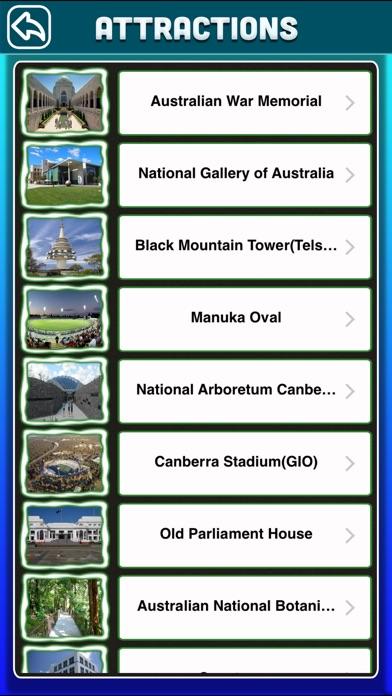 Canberra City Offline Travel Guide screenshot three