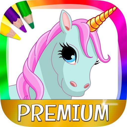 Unicorni E Pony Disegni Per Dipingere E Libro Da Colorare