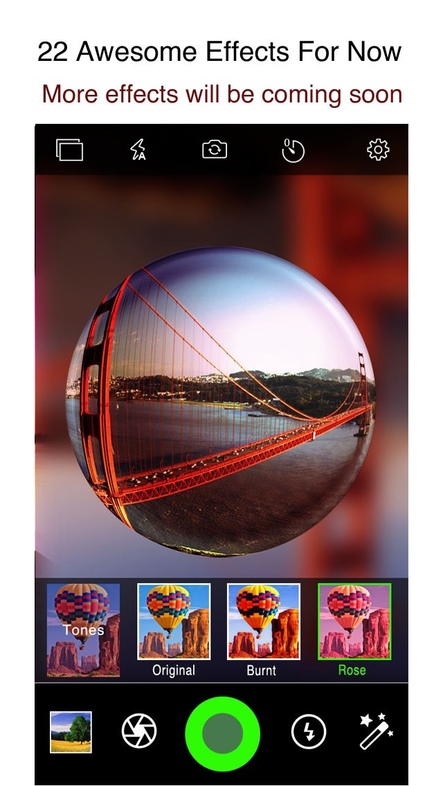 download Fisheye Plus Free - Lomo Fisheye Camera with Crystal ball Lens and Color Flashlight apps 0