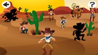 Screenshot of Cowboys Bambini Giochi3
