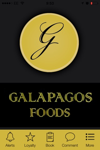 Galapagos Foods, London screenshot 1